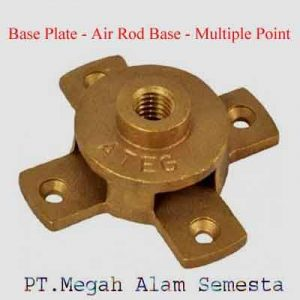 Base Plate Air Rod Base Multiple Point
