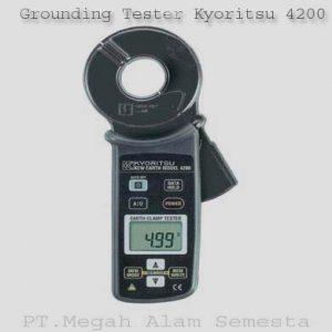 Grounding Tester Kyoritsu 4200