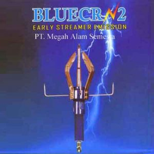 penangkal petir bluecrn2