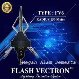 Penangkal Petir Flash Vectron