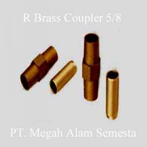 R Brass Coupler