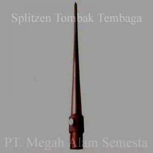 Splitzen Tombak Tembaga