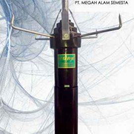 Cara memasang penangkal petir merk kurn r150